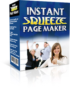 instant squeeze page maker