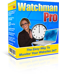 watchman pro free web host monitoring software