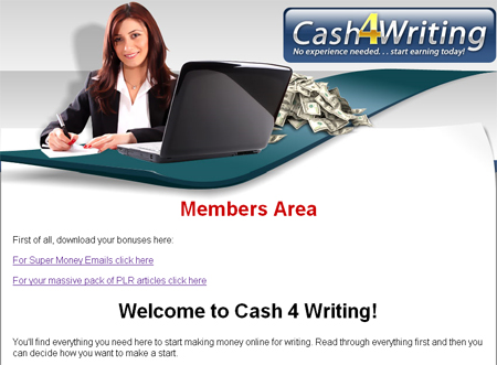 Cash4Writing Review