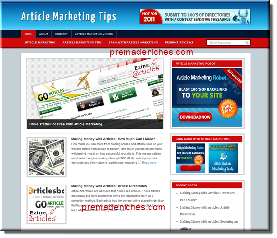 article marketing site